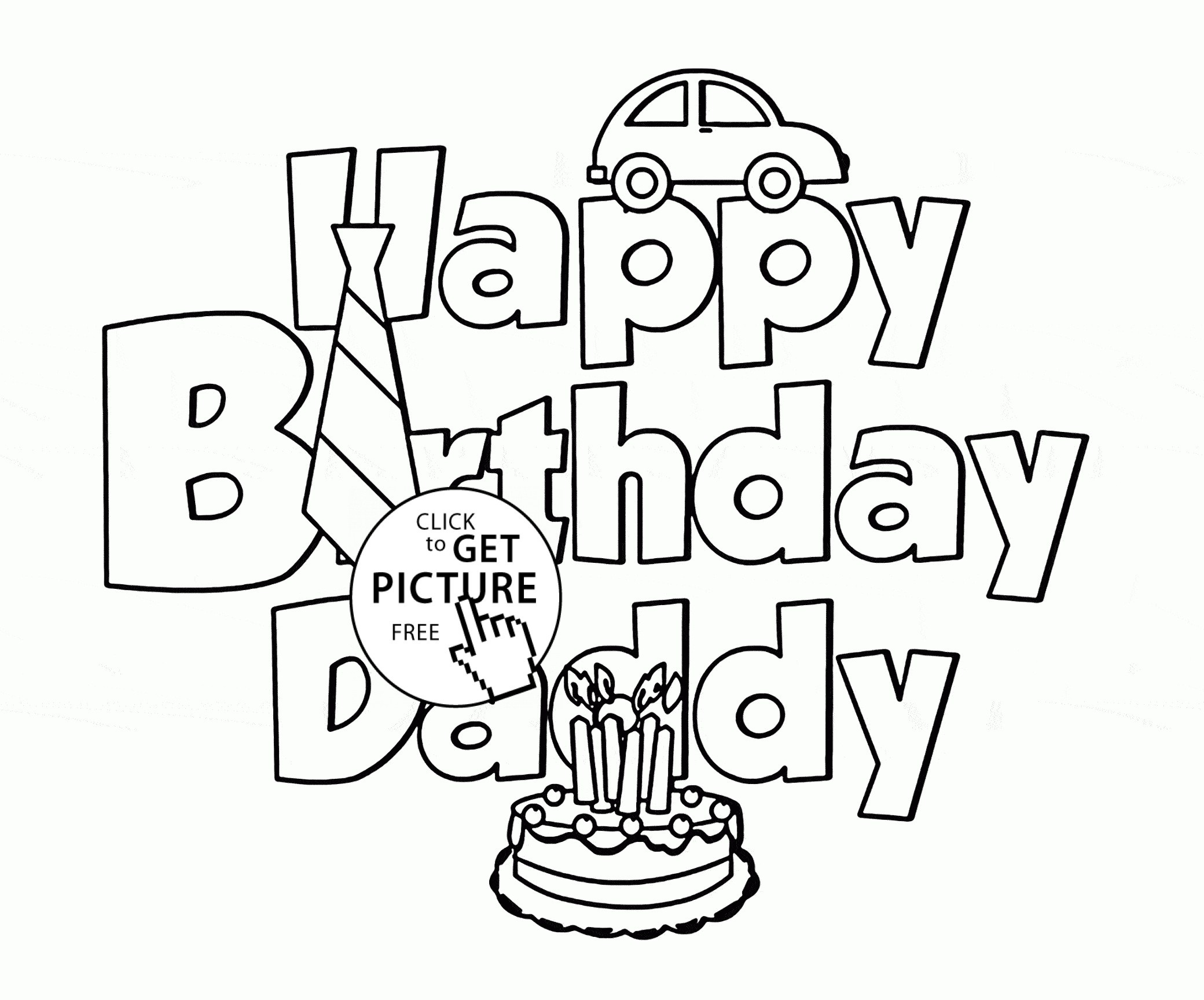 happy birthday dad drawings ; coloring-pages-for-happy-birthday-daddy-copy-dad-awesome-super-printable-free-lovely-simple-decoration-of
