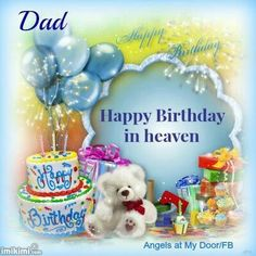 happy birthday dad in heaven for facebook ; 182cb8406d552b2a55f2502d8d310400