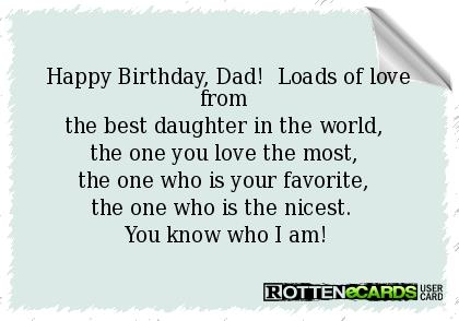 happy birthday dad quotes from daughter ; 837570f7bfccdc850f0346b95f20376c