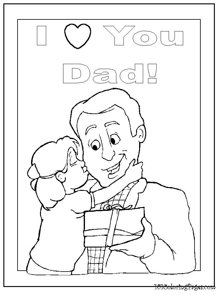 happy birthday daddy printable coloring pages ; a45b9c94eff01225e05a37bceea410ea