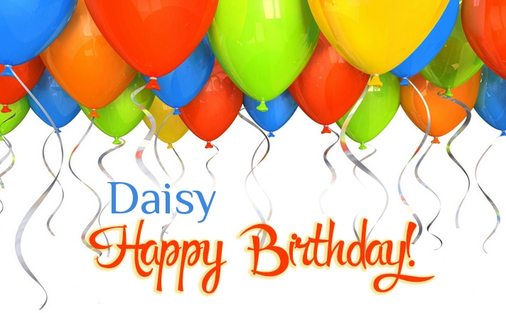 happy birthday daisy ; name_2088