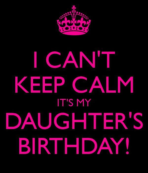 happy birthday daughter banner ; Keep-Calm-Birthday-Wish-For-Sweet-Daughter
