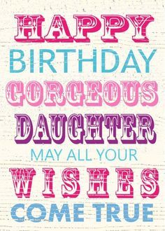 happy birthday daughter banner ; f0bac9f24666e9f1ad5a02f0b7b8093b--birthday-sayings-birthday-greetings