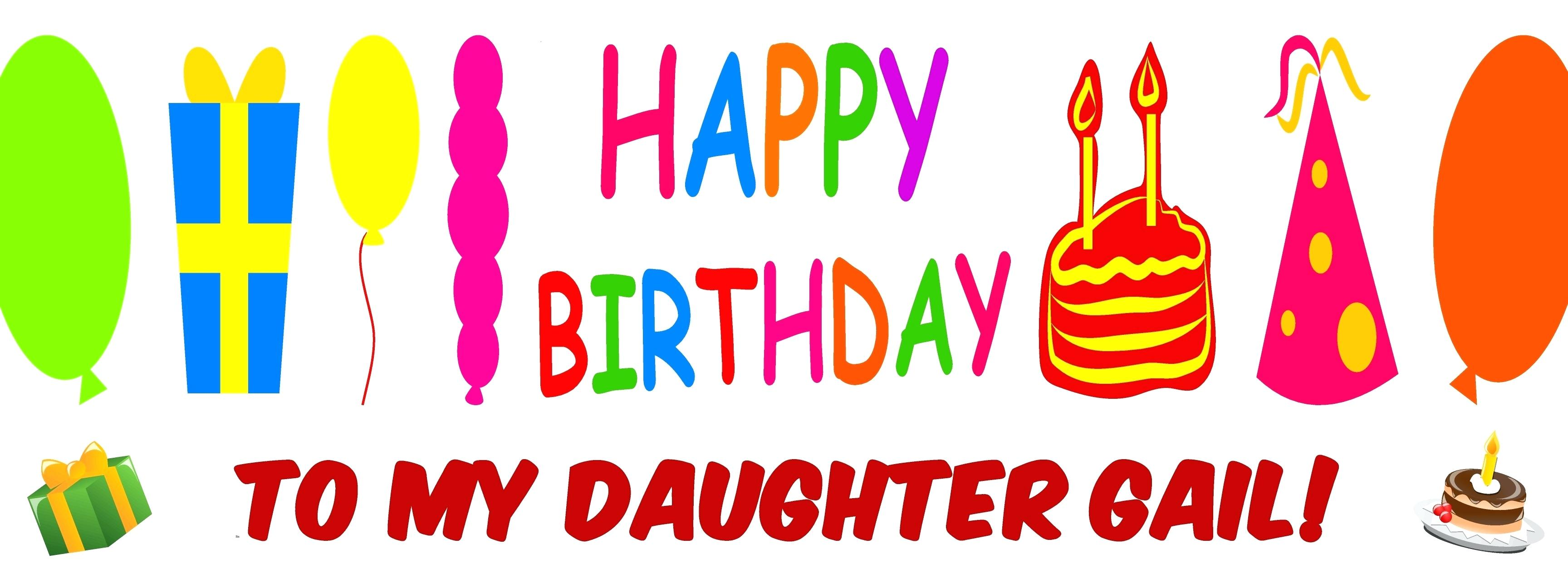 happy birthday daughter banner ; happy-birthday-template-banner-2-diy-printable