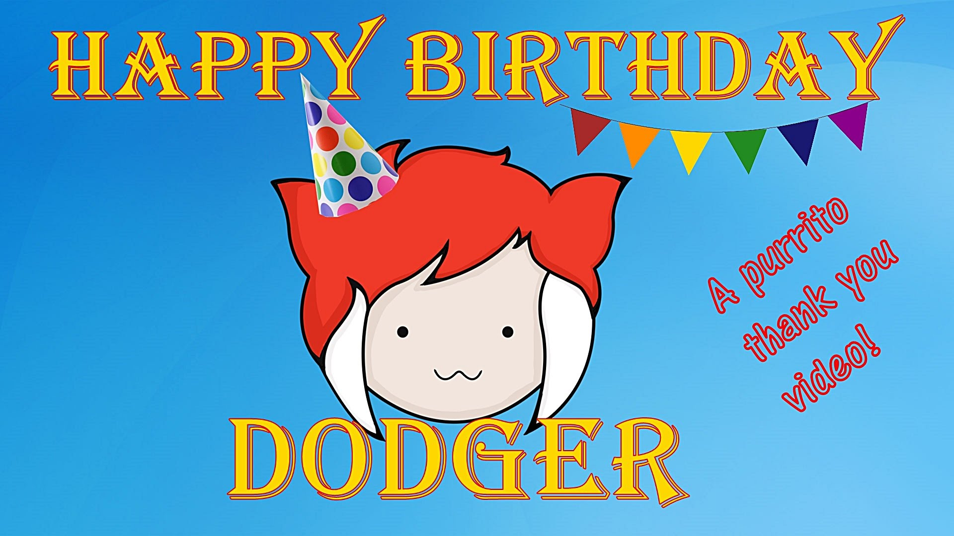 happy birthday dodger images ; maxresdefault