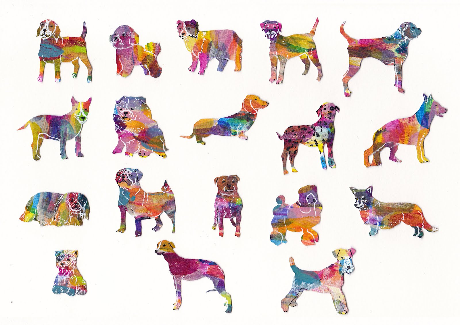 happy birthday dog clipart ; 18dogs