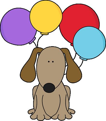 happy birthday dog clipart ; b9f745762fcb57af61bd8cb45a13b9f6_dog-with-balloons-postacie-do-opisania-pinterest-clip-art-_438-500