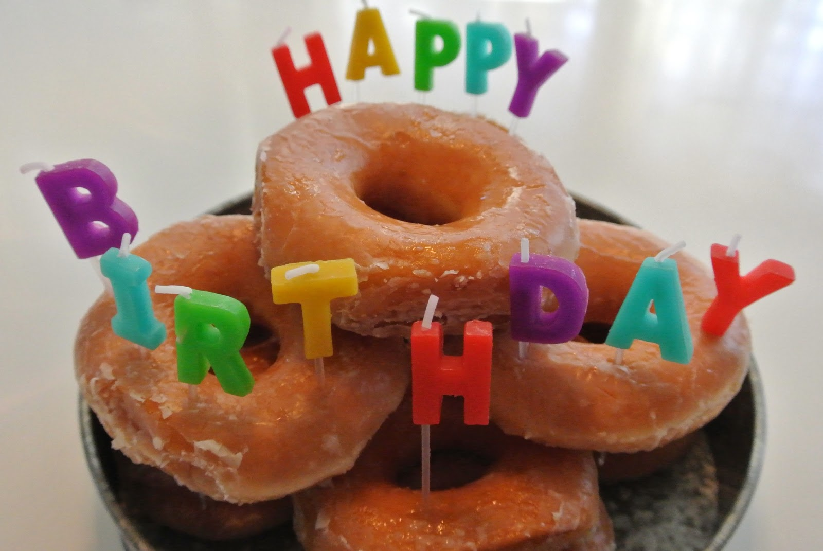 happy birthday donuts near me ; HarpersBirthday2