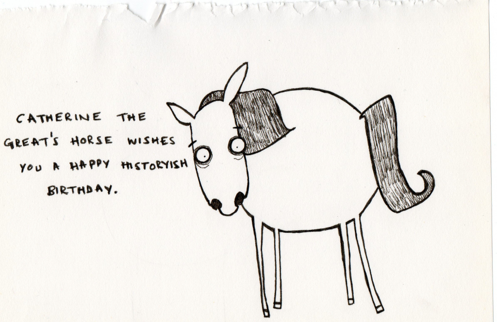 happy birthday drawing tumblr ; happy-birthday-humorous-drawings-historians-can-be-weird-an-historian