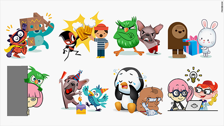 happy birthday facebook stickers ; 160204122738-facebook-friends-day-stickers-780x439