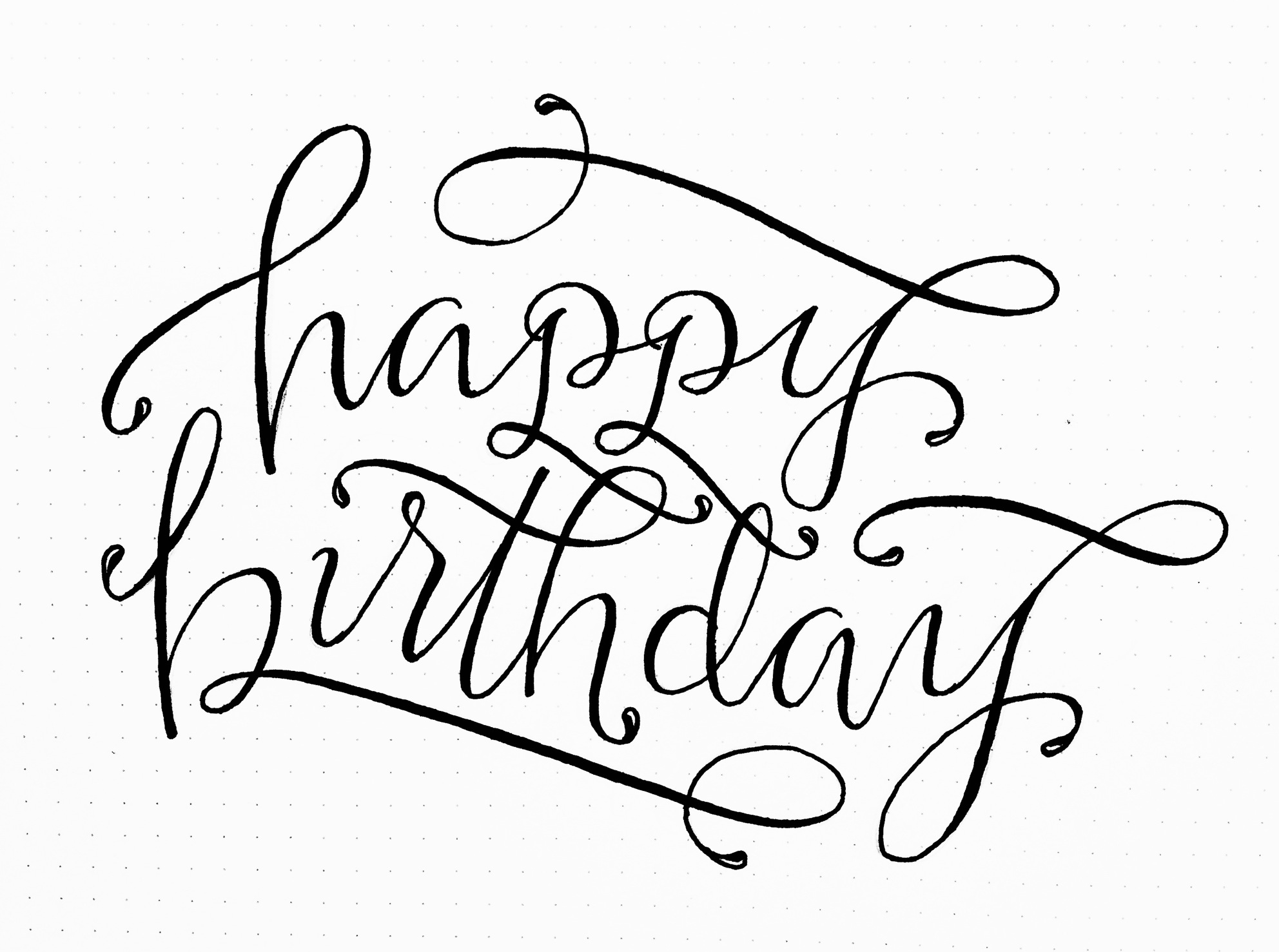 happy birthday font ; 094a74cae2361ac388ce22c793f549cd