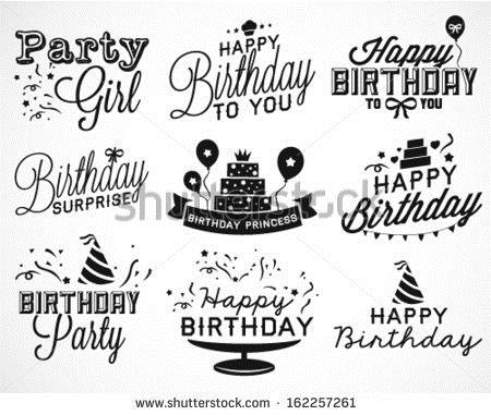 happy birthday font ; 162257261