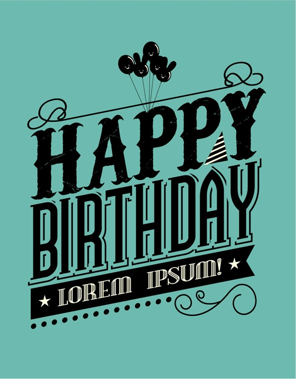 happy birthday font ; 446