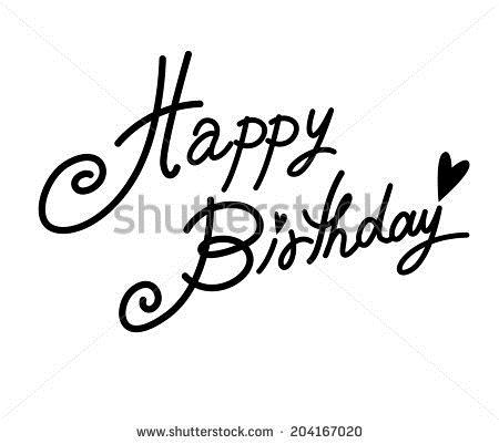 happy birthday font ; stock-vector-happy-birthday-font-204167020