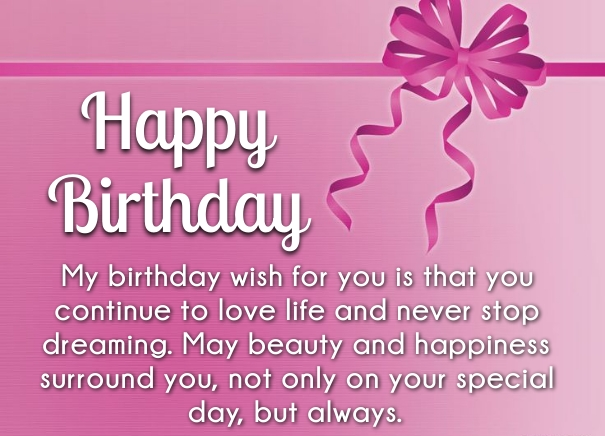 happy birthday from far away ; birthday-message-for-a-friend