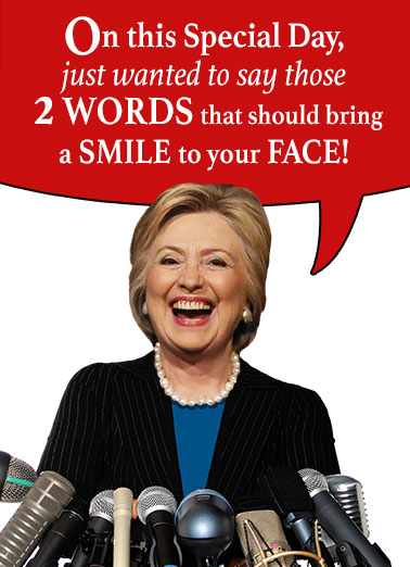 happy birthday from hillary clinton ; low_Madame%2520President_cover