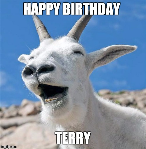 happy birthday goat meme ; 1wfsjg