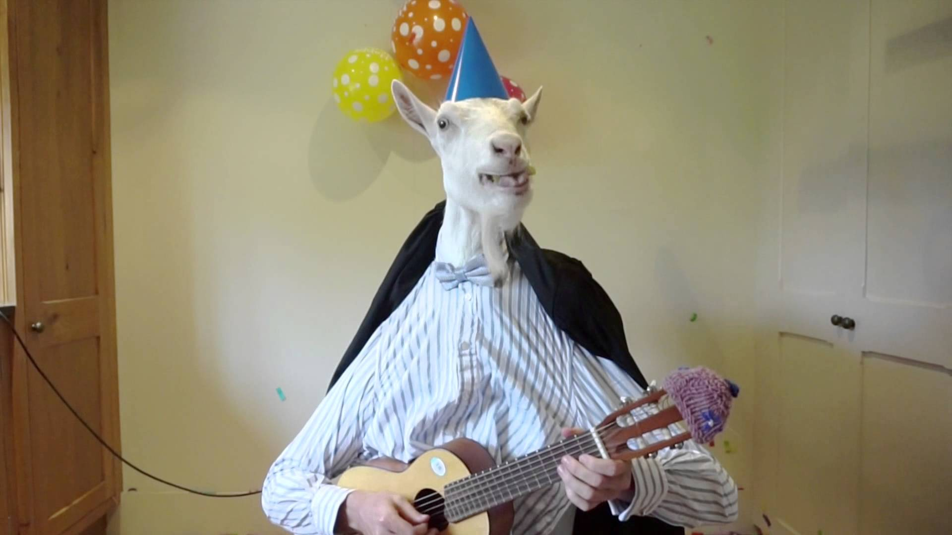 happy birthday goat meme ; maxresdefault