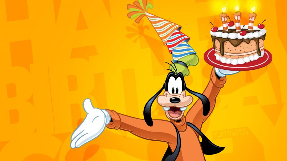 happy birthday goofy ; Goofy-Celebrate-Happy-Birthday-Disney-Wallpaper-2880x1800-915x515