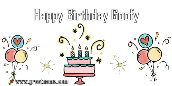 happy birthday goofy ; Happy-Birthday-Goofy-Cake-Balloon