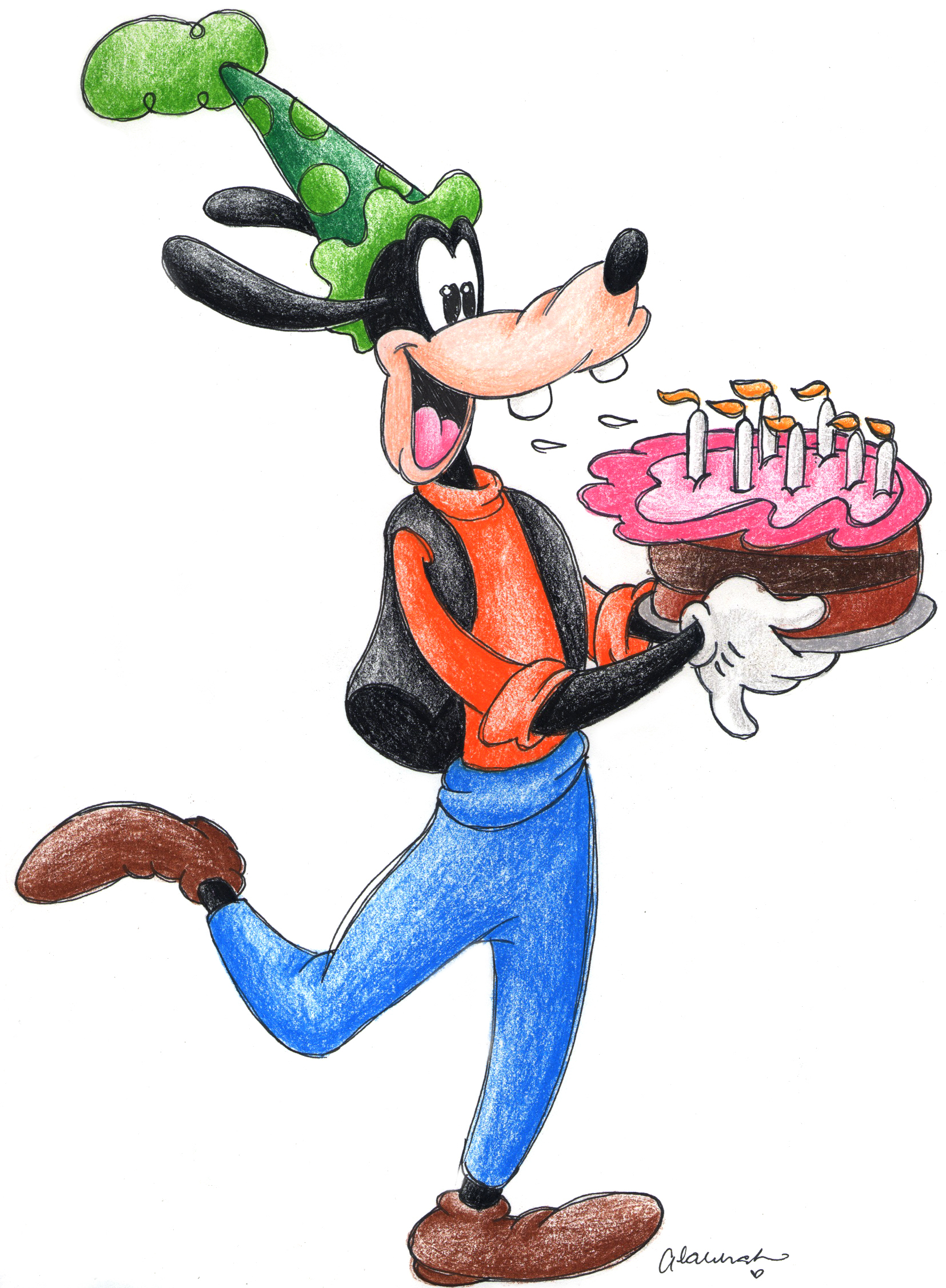 happy birthday goofy ; b493b4c19dc54850866da90103672ad7