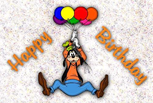 happy birthday goofy ; goofybirthdaytp