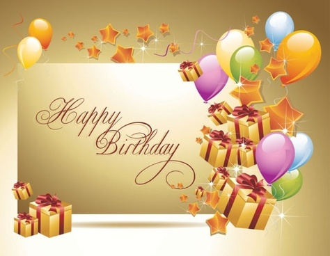 happy birthday graphics ; happy_birthday_postcard_02_vector_160085