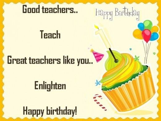happy birthday greeting card for teacher ; happy-birthday-greeting-cards-for-teachers-best-25-birthday-wishes-for-teacher-ideas-on-pinterest-birthday-download