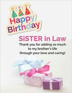 happy birthday greeting cards for sister in law ; a46b1e59e865501a76091c2f6c5b1deb--sister-in-law-birthday-card-sayings