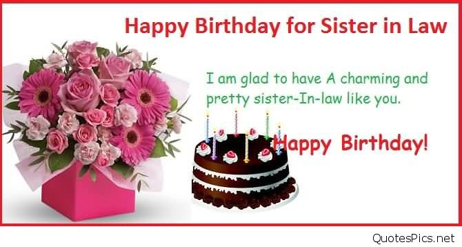 happy birthday greeting cards for sister in law ; lovely-quotes-birthday-wishes-for-sister-in-law-e-card