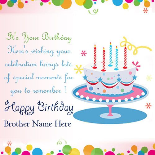 happy birthday greetings card for brother ; 99a889c4ebfa3c8f767f427c13de6135
