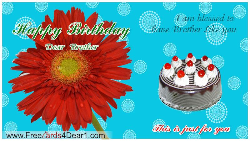 happy birthday greetings card for brother ; happy-birthday-greeting-card-for-dear-brother