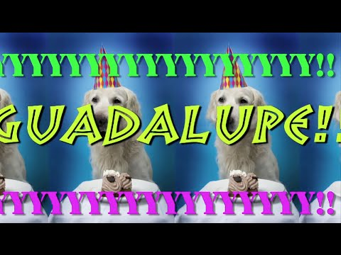 happy birthday guadalupe ; hqdefault