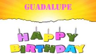 happy birthday guadalupe ; mqdefault