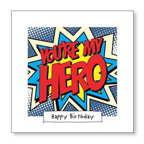happy birthday hero ; KA008-500x500