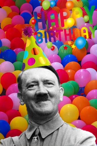 happy birthday hitler ; G4sqbhX