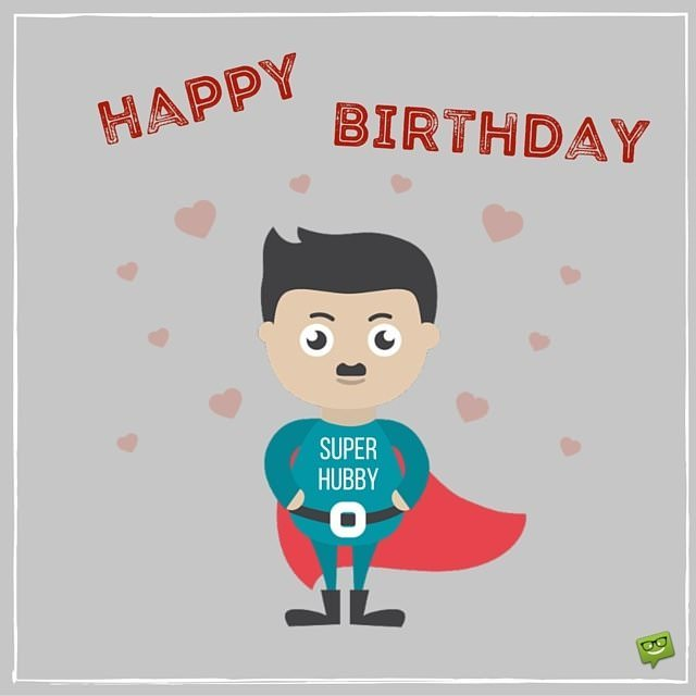 happy birthday husband clipart ; Happy-Birthdfay-to-super-husband