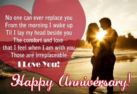 happy birthday husband quotes ; 015-amazing-anniversary-wishes-for-girlfriend