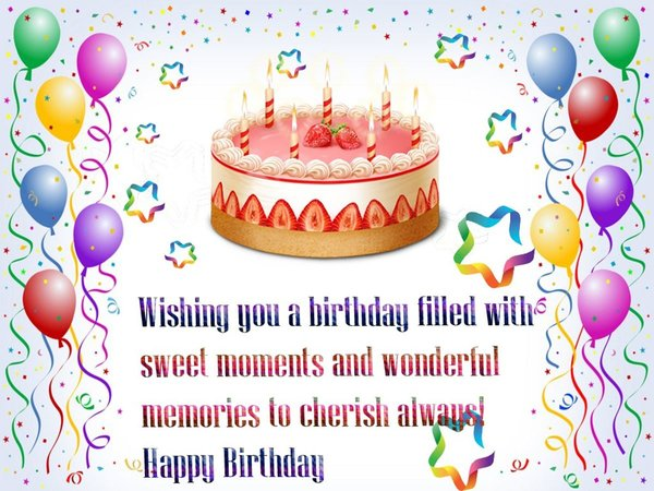happy birthday image with photo ; sparkling-birthday-wishes-for-friend