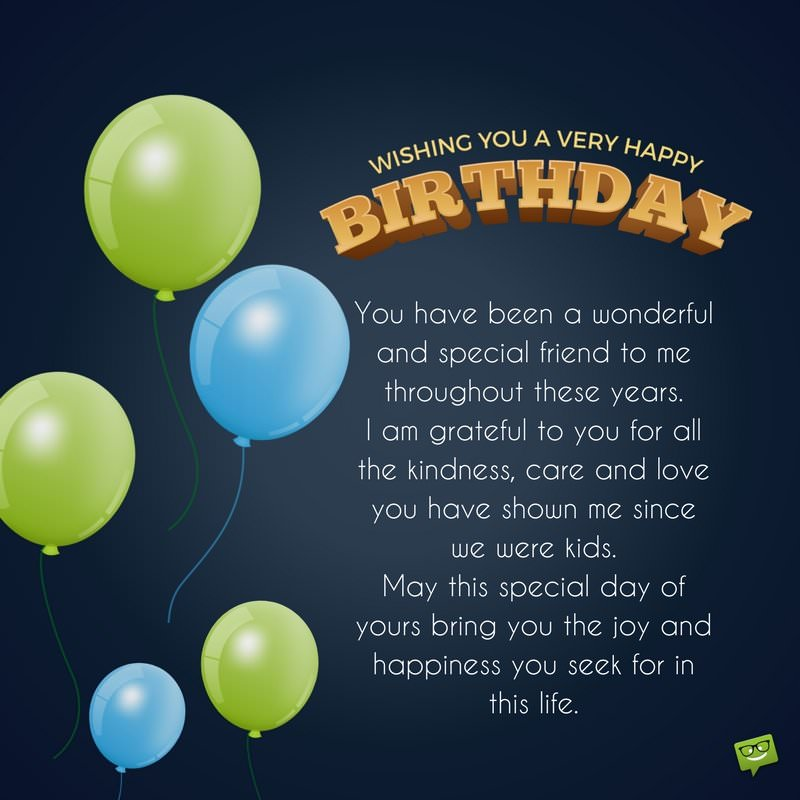 happy birthday images for a guy ; Long-birthday-message-for-male-childhood-friend