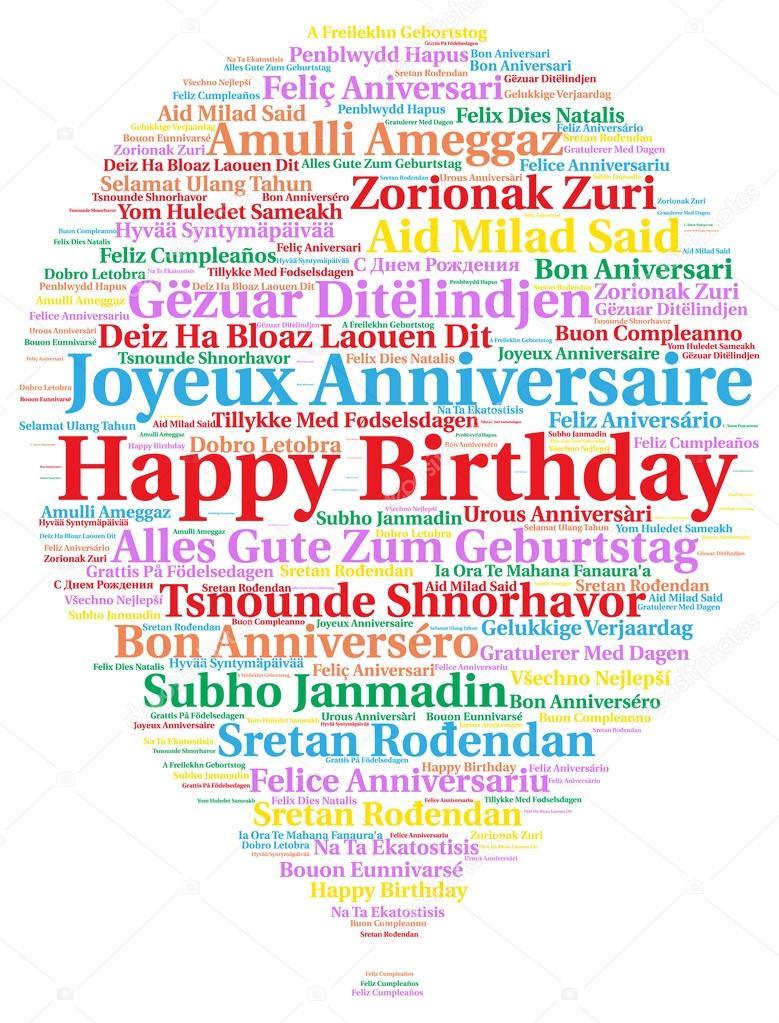 happy birthday in different languages ; depositphotos_102671168-stock-photo-happy-birthday-in-different-languages