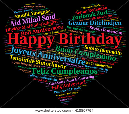 happy birthday in different languages ; stock-photo-happy-birthday-in-different-languages-410807764