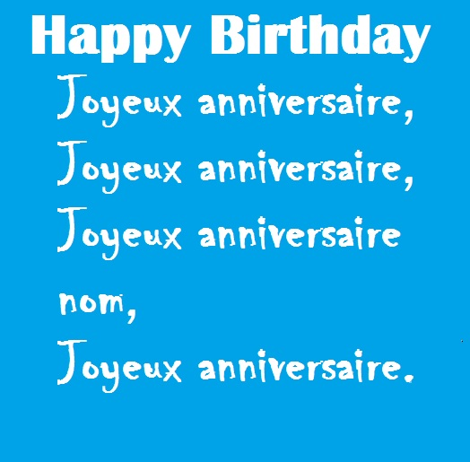 happy birthday in french lyrics ; happy-birthday-in-french-sms-2