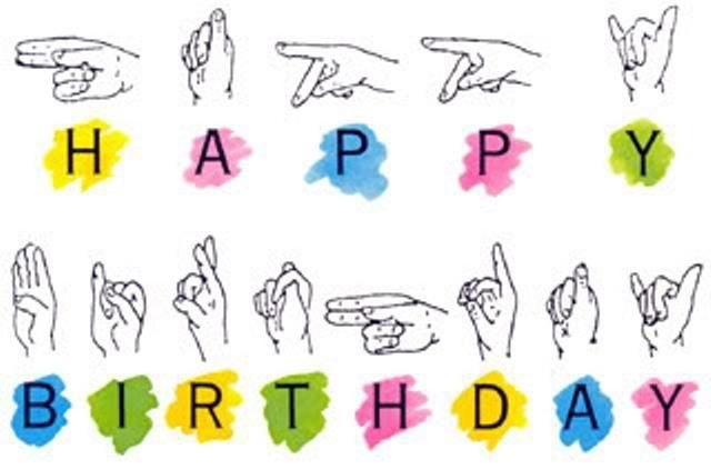 happy birthday in sign language gif ; 9aa81833361f0deb00e3b3bfc4caf817