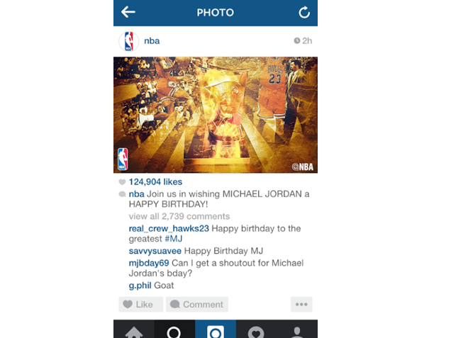 happy birthday instagram post ; original