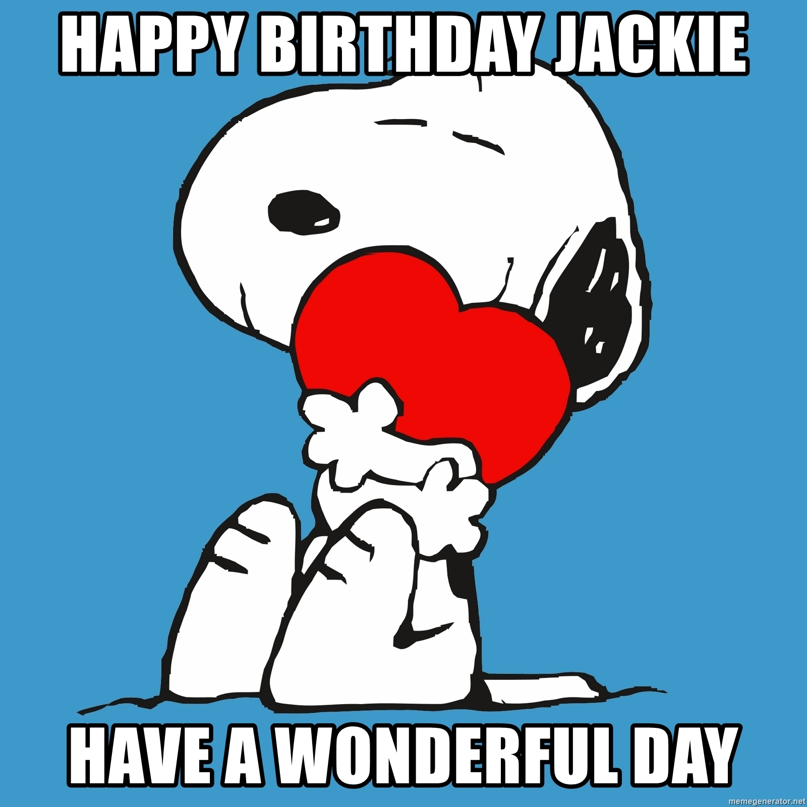 happy birthday jackie meme ; 80699049