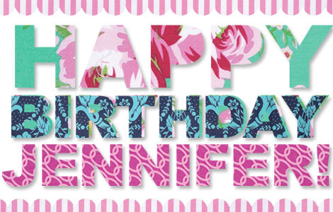 happy birthday jennifer ; 24090661