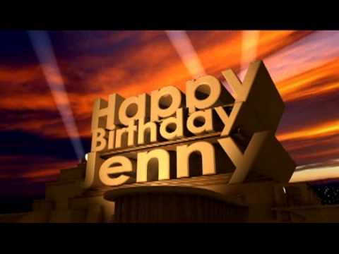 happy birthday jenny ; hqdefault
