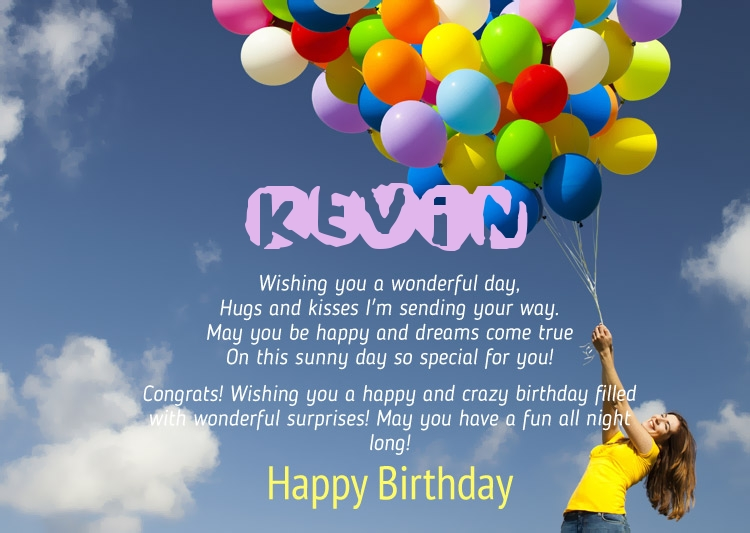 happy birthday kevin ; 12318