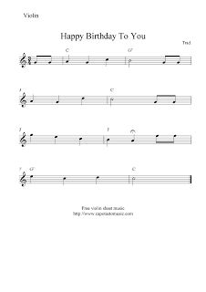 happy birthday lead sheet pdf ; c67c56a195fc0a61711d519e1e7e8c3b--free-violin-sheet-music-violin-music